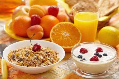 신진대사 활성화로 칼로리 섭취