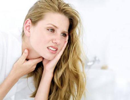 목의 염증을 위한 해결책