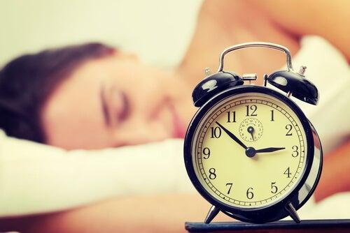 수면 시간의 변화