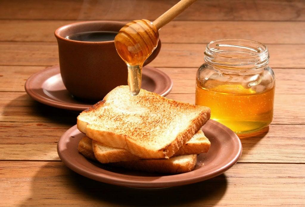 곱슬머리에 좋은 꿀