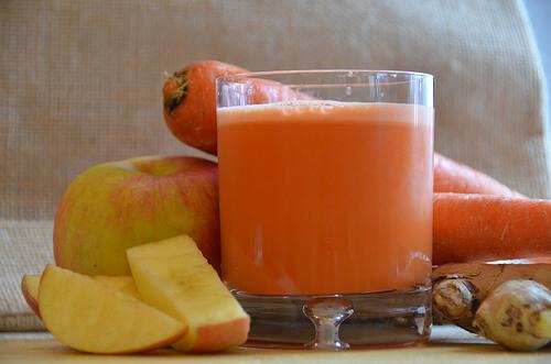사과 당근 주스를 이용한 체중 감량