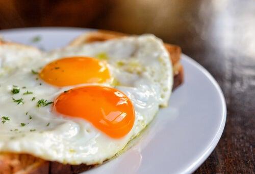 포만감을 주는 식품 달걀
