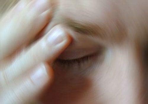 구토증세와 어지럼증
