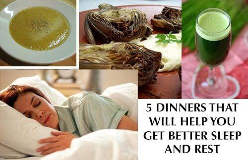 숙면에 좋은 저녁 식사 5가지