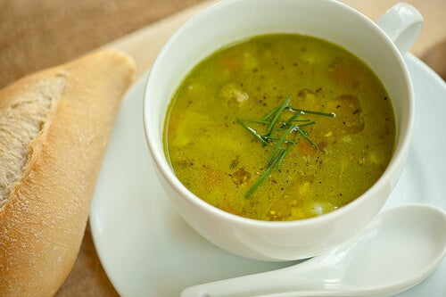 지방을 태우는 10가지 음식들 수프