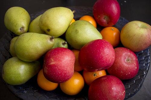 열량 과일