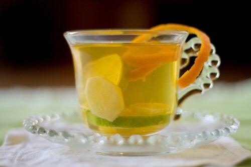 생강과 레몬