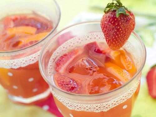 최고의 건강 과일 딸기