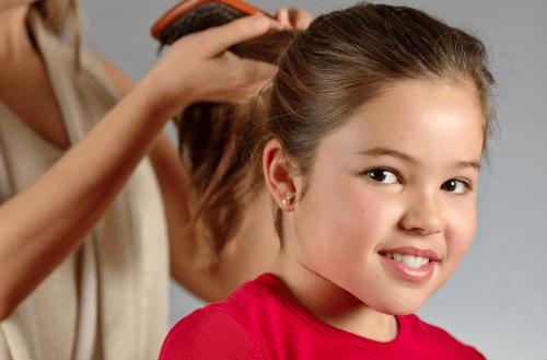 아이들의 머리카락 관리