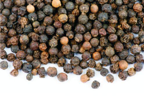 말린 후추 열매
