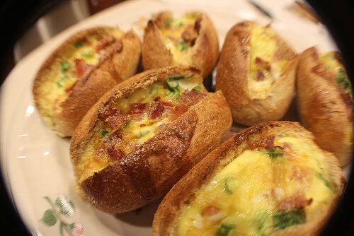 오전 두통을 달걀
