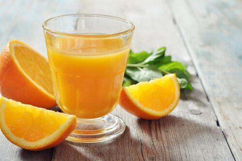 오렌지의 체중감량 효과