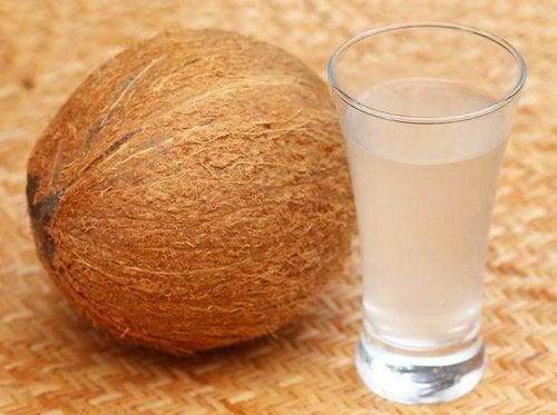 코코넛 워터로 건강을 개선하는 방법 10가지