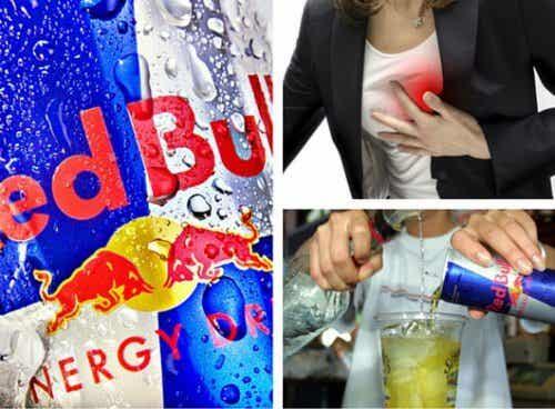 레드불과 같은 에너지 음료가 몸에 미치는 영향