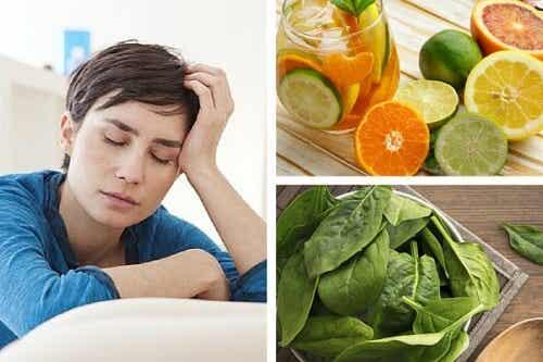 피로를 일으킬 수 있는 비타민 결핍