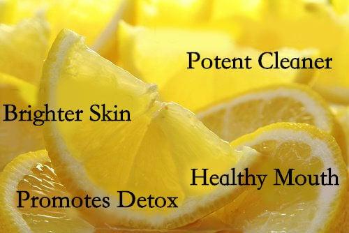 레몬의 9가지 놀라운 용도