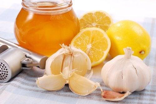 꿀과 마늘의 효능
