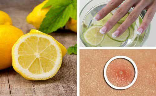 레몬으로 하는 미용 관리법 6가지