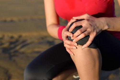 관절염 증상을 무릎
