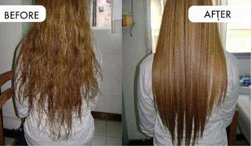 자연스럽게 머리카락을 펴는 방법