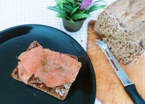 빵을 호밀빵