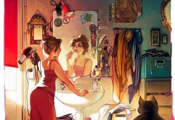 woman-getting-ready