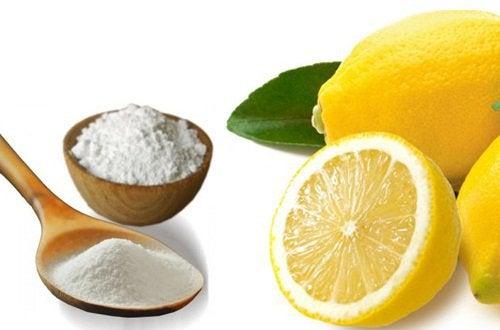 베이킹소다와 레몬의 효능