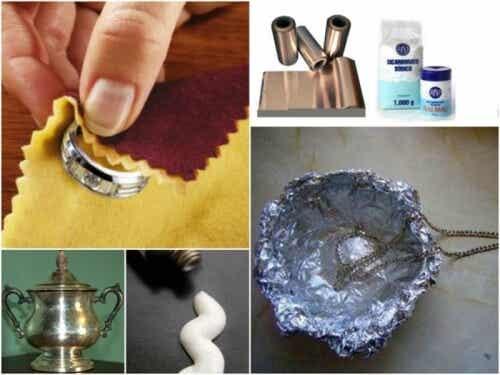 집에서 은 제품을 닦는 7가지 방법