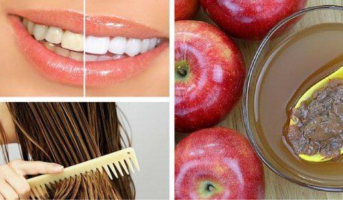 미용을 위해 사과식초를 사용하는 8가지 방법