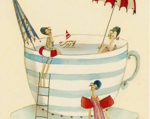 3-friends-for-a-swim