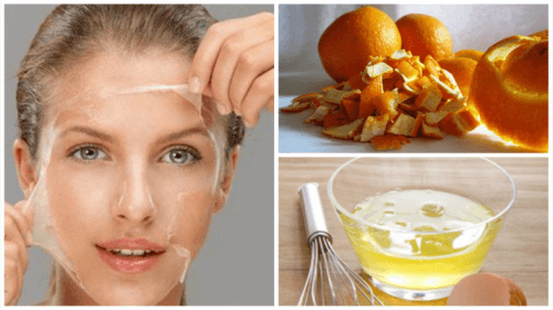 달걀과 오렌지로 높이는 피부 탄력, 달걀흰자와 오렌지껍질 피부팩