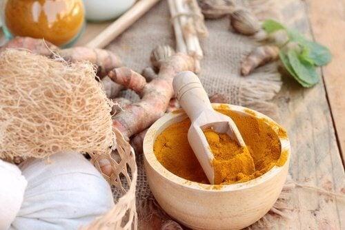 약효가 좋은 천연 꿀 강황 치료제