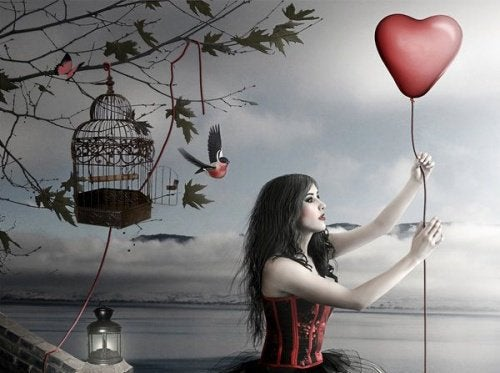 woman-holding-heart-shaped-balloon