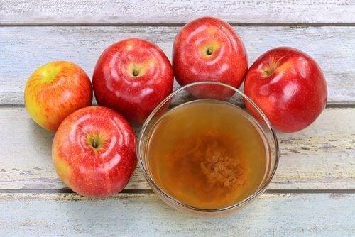 치아 미백을 위한 애플사이다 식초