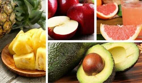 신체에 유익한 과일 8가지