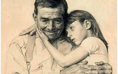 할아버지 할머니들은 죽지 않는다, 우리의 마음속에 살아 계신다.