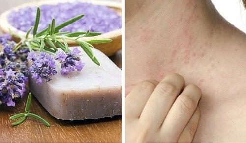민감한 피부와 피부염을 위한 특별한 수제 비누