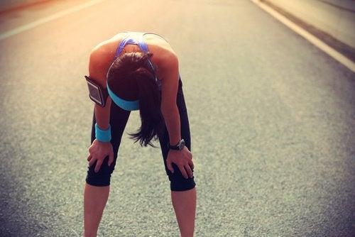 근육 경련의 원인