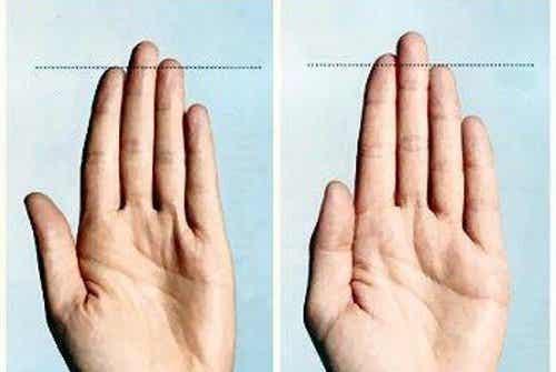 손가락이 건강에 관해 말해주는 8가지