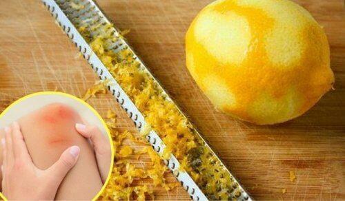 레몬 껍질로 관절통을 치유하는 방법