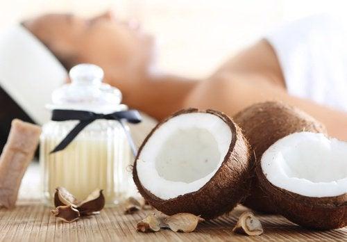 키위 스무디 코코넛