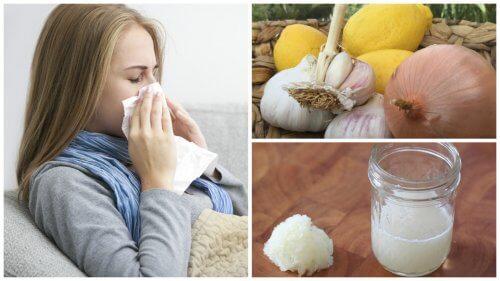 기침, 알러지, 독감을 양파로 치료해보자