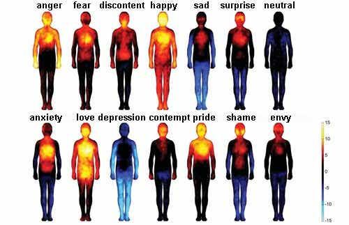 부정적인 생각과 감정이 신체에 미치는 영향