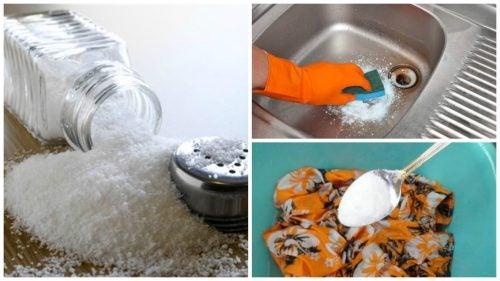 소금의 7가지 친환경 활용법