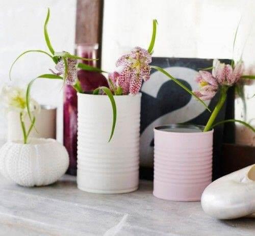 캔을 재활용하는 19가지 창의적인 방법