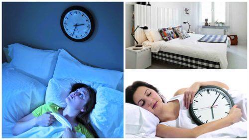 수면 장애를 해결할 수 있는 8가지 방법