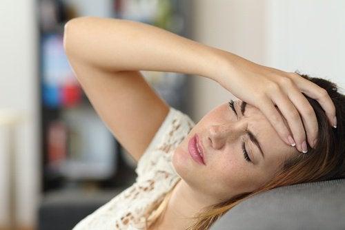 편두통 몸의 신호