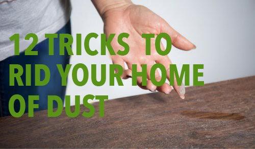 집 먼지를 없애는 12가지 기술