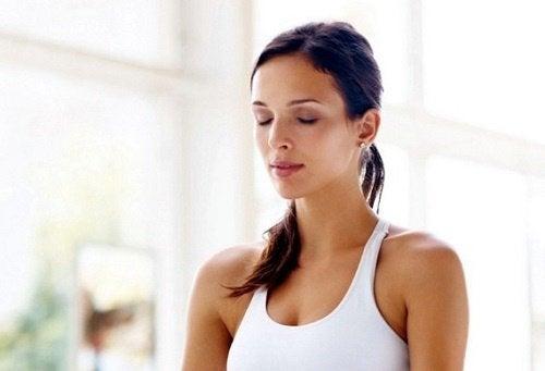 스트레스 조절에 일관된 호흡법