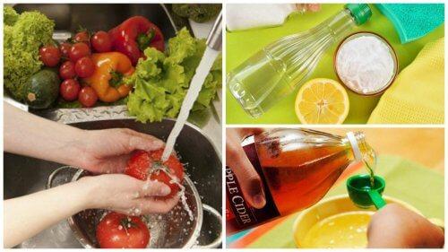 채소 및 과일을 소독하는 7가지 팁
